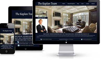 The Kaplan team makeing good use of the website