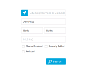 Custom search with our tools